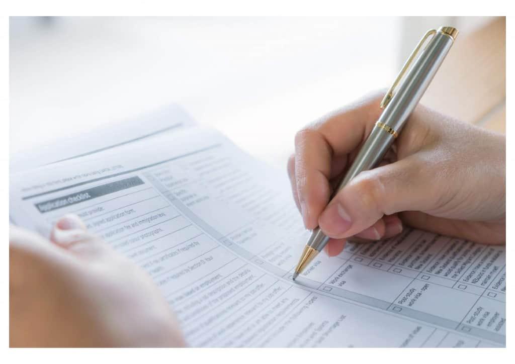 Visa Checklist