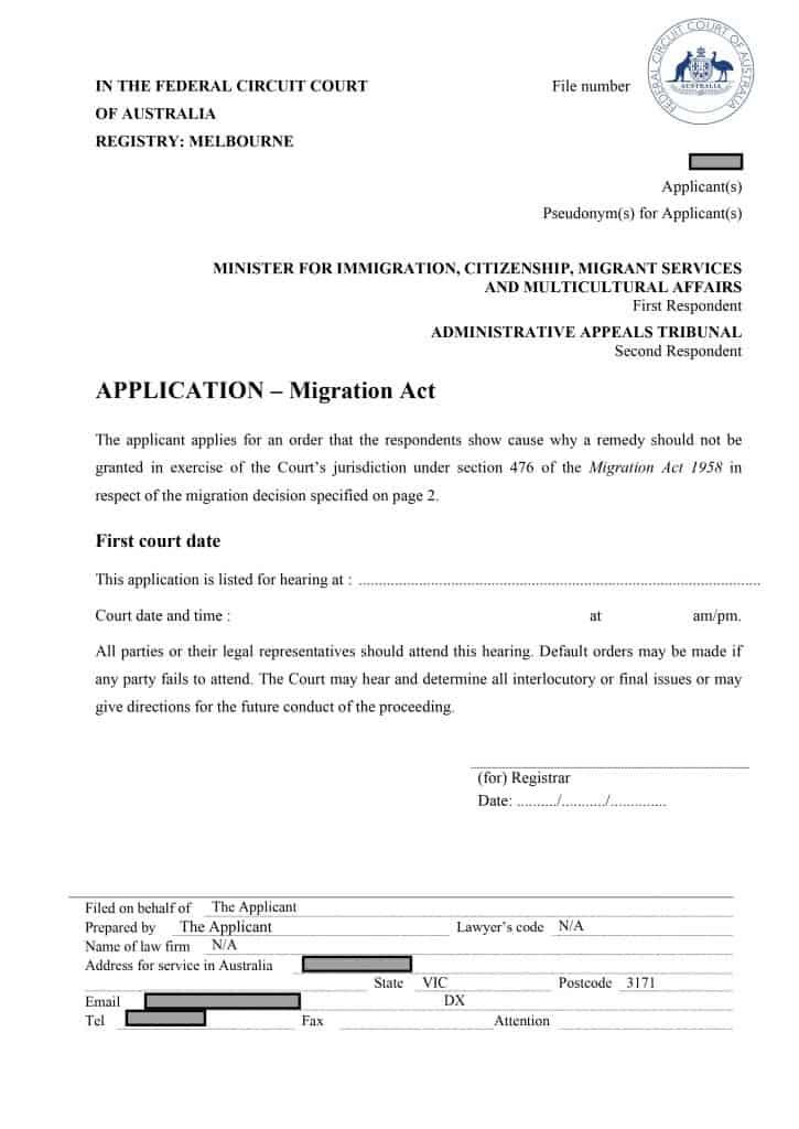 AAT visa refused visa cancelled migration lawyer